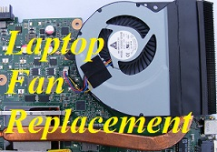 Laptop Cooling Fan Repair