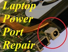Laptop Power Socket Repair- Laptop Power Port Repair