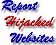Report Hijacked Website