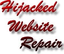 Hijacked Website Repair Service