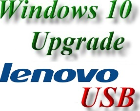 Lenovo Windows 10 Upgrade USB Pen Drives - USB Flash Drives